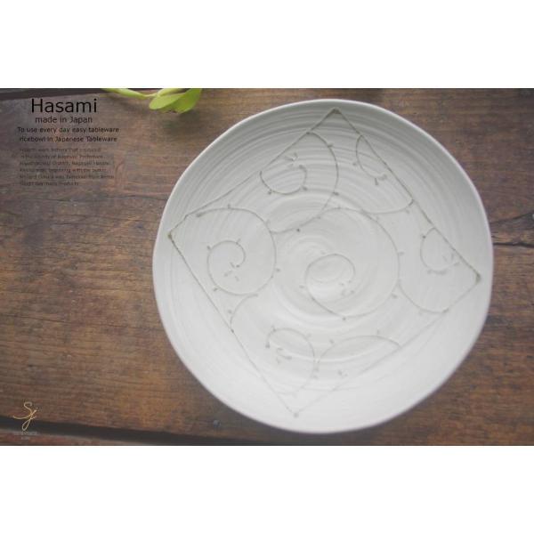 和食器 波佐見焼 わら唐草 19cm 和皿 陶器 食器 うつわ おうち ごはん|ricebowl|02