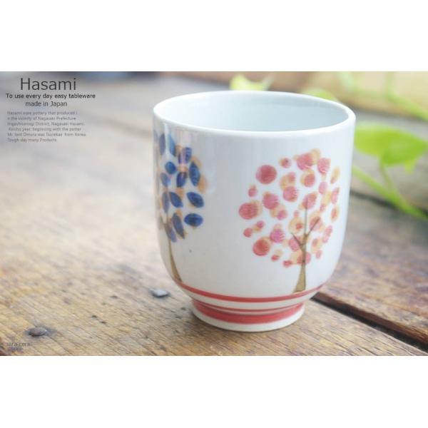 和食器 波佐見焼 TREE 湯のみ 湯飲み コップ フリーカップ おうち ごはん うつわ 陶器 美濃焼 日本製 赤 レッド|ricebowl|05
