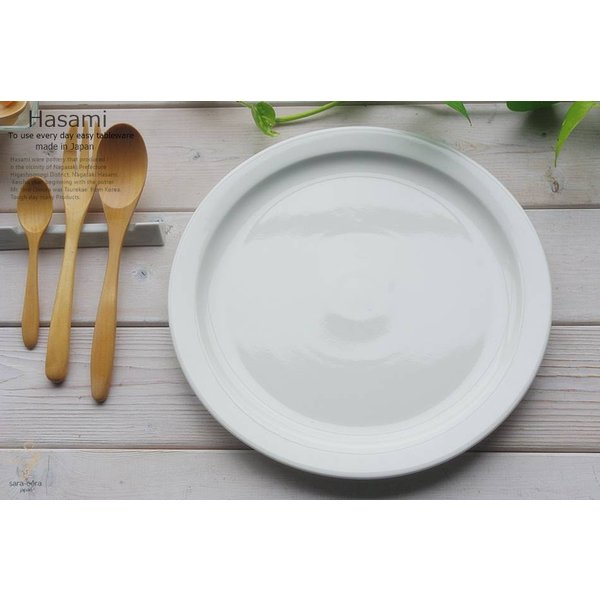和食器 波佐見焼 モダンホワイト 白い食器 ディナープレート お料理 皿 メインディッシュ 前菜 おうち うつわ 陶器 日本製 おしゃれ ricebowl 06