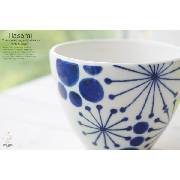 和食器 波佐見焼 藍染付けブルー 夏の夜空 フリーカップ 湯のみ 湯飲み タンブラー コップ おうち ごはん うつわ 陶器 日本製 お茶 アイス|ricebowl|05