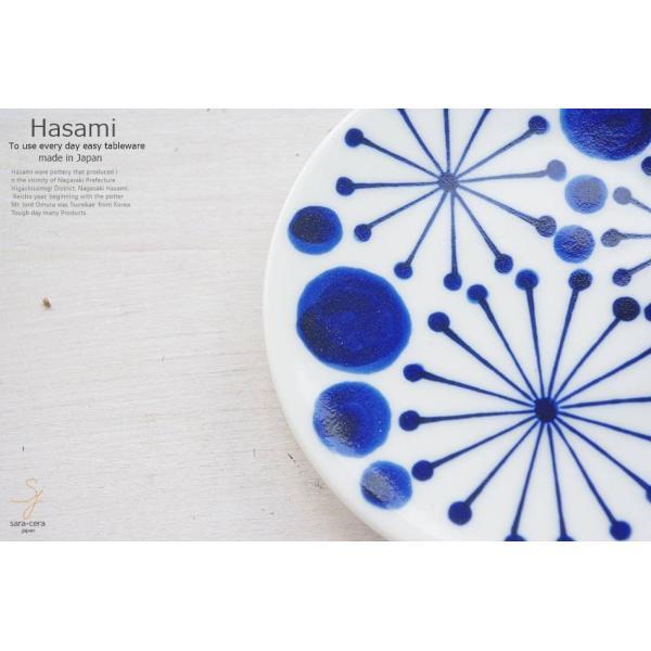 和食器 波佐見焼 藍染付けブルー 夏の夜空 小皿 豆皿 プチディッシュ ミニプレート おうち うつわ 陶器 日本製 おしゃれ|ricebowl|05