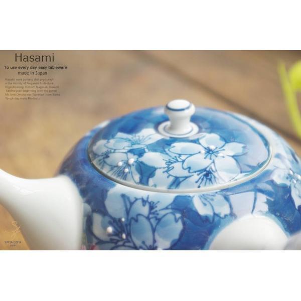 和食器 波佐見焼 濃桜 美味しいお茶 急須 ティーポット 緑茶 おうち ごはん うつわ 陶器 日本製|ricebowl|05