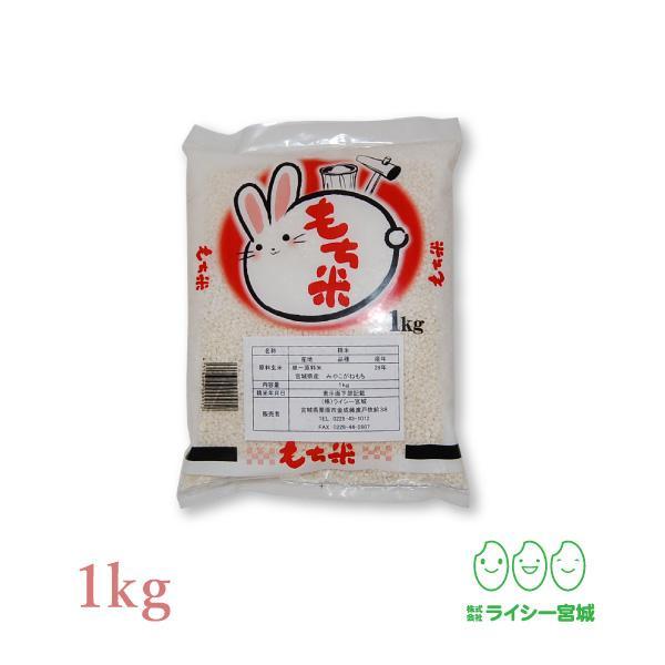 餅米 みやこがねもち 1kg 令和2年産 宮城県産 もち米 送料無料 ネコポス