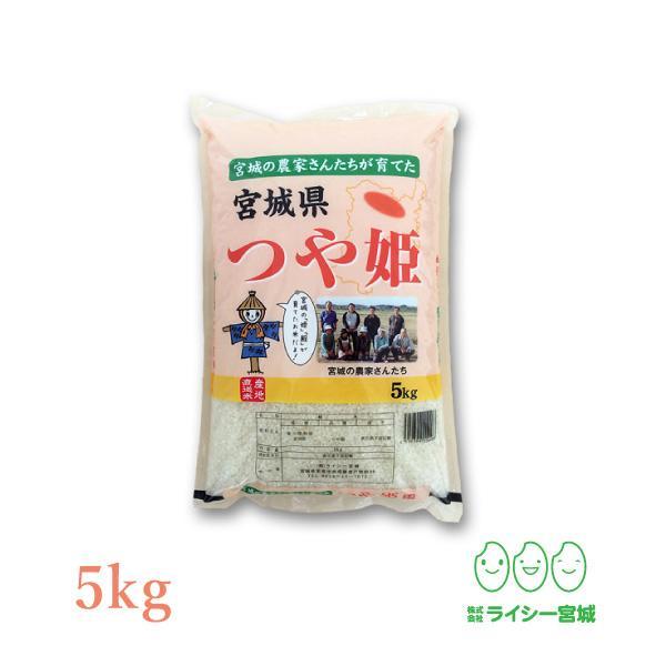 新米 つや姫 5kg 米 米5kg お米 白米 宮城県産 令和3年産 送料無料 5kg 精米