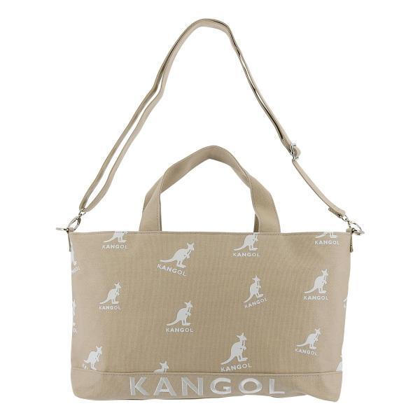 カンゴール トートバッグ クレーン レディース 250-1461 KANGOL | コットン 2WAY ショルダーバッグ [03/15]