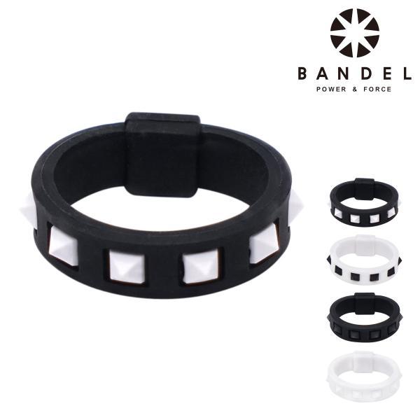 バンデル リング Studs メンズ レディース BANDEL | 指輪 パワーバランス シリコン
