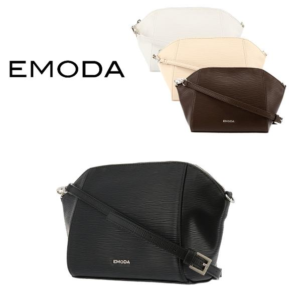 エモダ EMODA ショルダーバッグ EM-9258 水シボ型押し  レディース 型押し