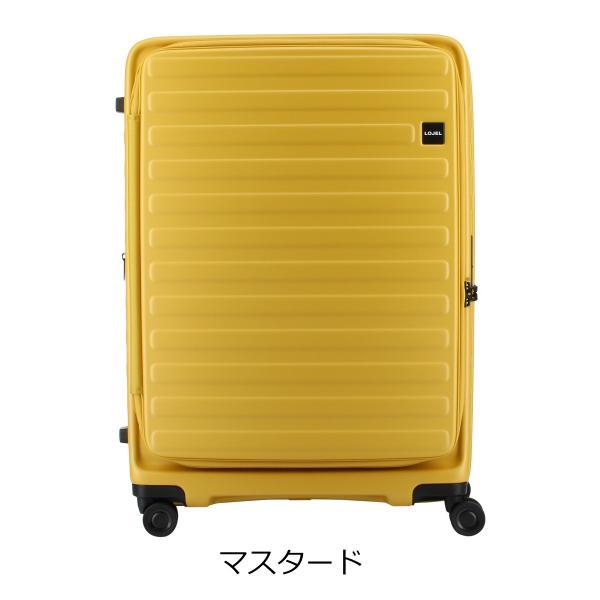 ロジェール LOJEL スーツケース CUBO-L 71cm キャリーケース キャリーバッグ ビジネスキャリー 拡張機能 エクスパンダブル 双輪キャスター TSAロック搭載 [PO10] richard 15