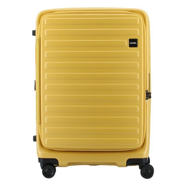 ロジェール LOJEL スーツケース CUBO-M 62cm キャリーケース キャリーバッグ ビジネスキャリー 拡張機能 エキスパンダブル 双輪キャスター TSAロック搭載 [PO10]|richard|02
