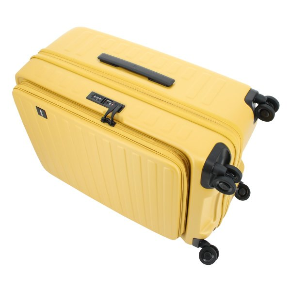 ロジェール LOJEL スーツケース CUBO-M 62cm キャリーケース キャリーバッグ ビジネスキャリー 拡張機能 エキスパンダブル 双輪キャスター TSAロック搭載 [PO10]|richard|06