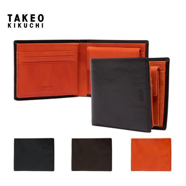 タケオキクチ 財布 二つ折り メンズ アルド 177624 TAKEO KIKUCHI 本革 レザー【即日発送】 [PO5]|richard