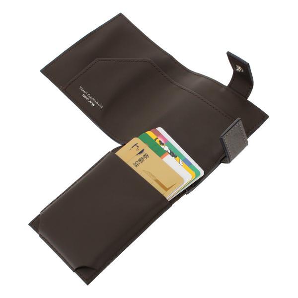トランスコンチネンツ 二つ折り財布 ミニ財布 ジェットセッター メンズ  TC-6085119 TRANS CONTINENTS   ブランド専用BOX 本革 レザー 撥水 richard 07