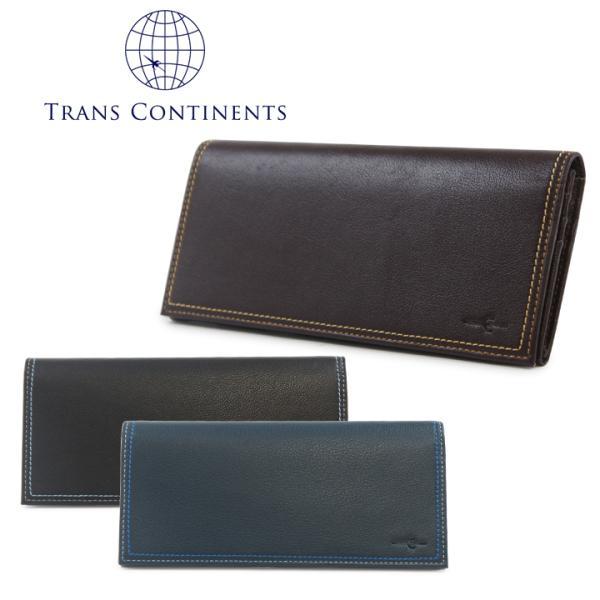 トランスコンチネンツ TRANS CONTINENTS 長財布 tc513016  カラーコーディネートシリーズ 財布 メンズ レディース ユニセックス レザー [PO5]|richard