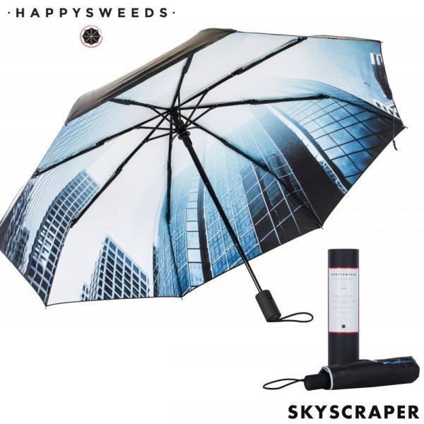 日傘折りたたみ晴雨兼用軽量UVカット日焼け対策UPF50+梅雨ゲリラ豪雨持ち運び北欧デザインプレゼントギフトHAPPYSWEED