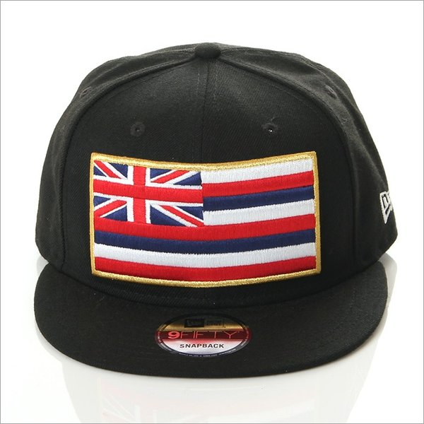 FITTED HAWAII SLAPSWIND SNAP BACK CAP RICH RUSH EXCLUSIVE model フィッテッド ハワイ × ニューエラ richrush 04