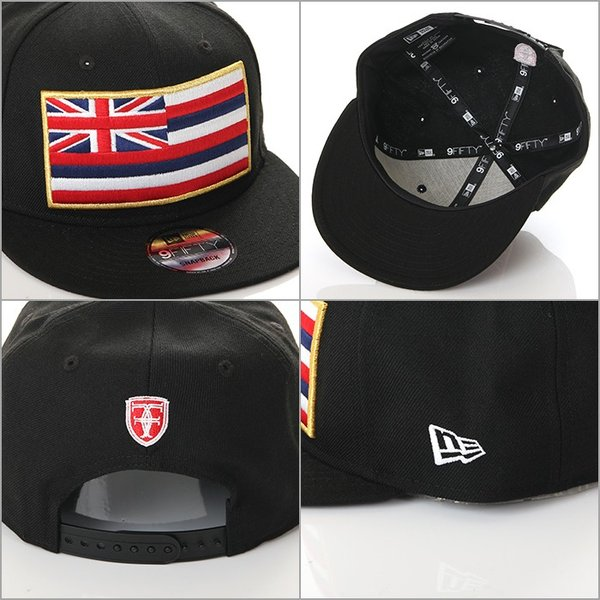 FITTED HAWAII SLAPSWIND SNAP BACK CAP RICH RUSH EXCLUSIVE model フィッテッド ハワイ × ニューエラ richrush 05