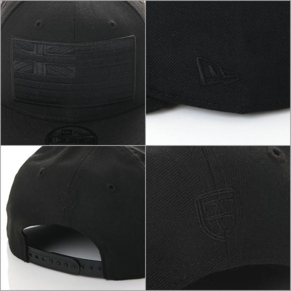 FITTED HAWAII SLAPSWIND 9FIFTY SNAPBACK CAP RICHRUSH EXCLUSIVE MODEL フィッテッド ハワイ × ニューエラ スナップバック キャップ ブラック×ブラック|richrush|06