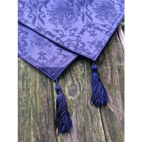 魔女の家 エレンの日記 ロゴ刺繍入りタペストリー|riffleshuffle|05