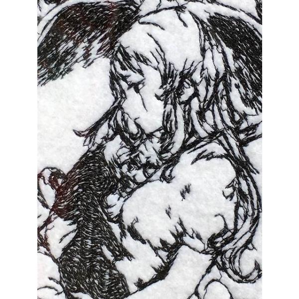 魔女の家 エレンの日記 額装刺繍|riffleshuffle|03