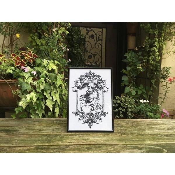 魔女の家 エレンの日記 額装刺繍|riffleshuffle|04