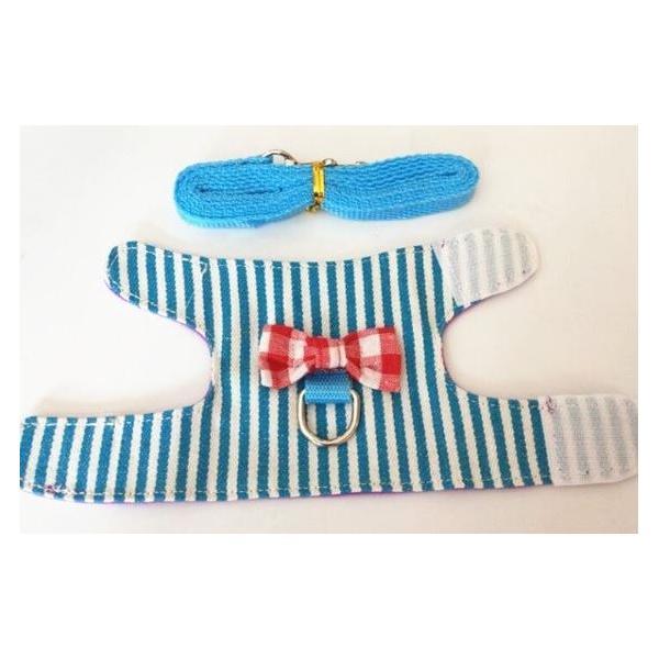 小動物 ハーネス(XS~M)  リード付き 散歩 胴輪 ハムスター  モモンガ フェレット うさぎ rin-shop 06