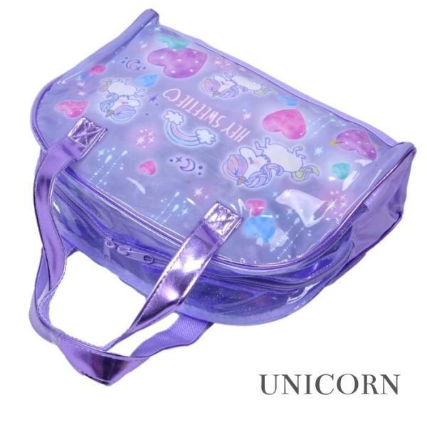 プールバッグ 子供 プールバック ビーチバッグ 女の子 ボストン型サマーバッグ ビーチバック|rinasora|07