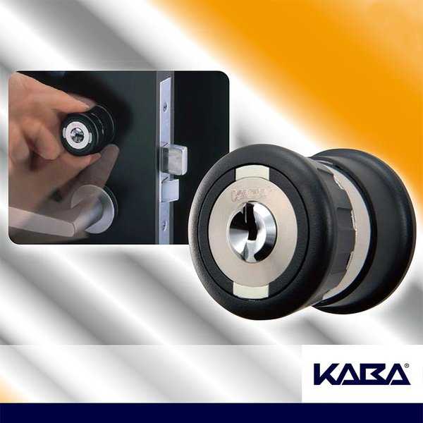 ドア用防犯用品 認知症 鍵 徘徊 老人ホーム 玄関 病院 デイサービス  KABAセーフティサムターン MIWA-LSP用 KST-150R|ring-g|02