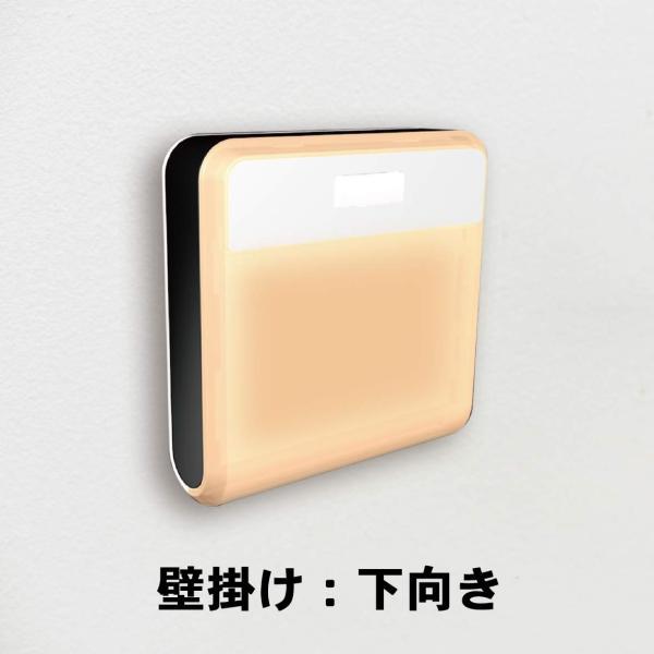 センサーライト 屋内 おしゃれ LED 人感センサー 電池式 玄関 誘導灯 ムサシ RITEX どこでもセンサーライトワイヤレス 2個入 W-500 ring-g 06