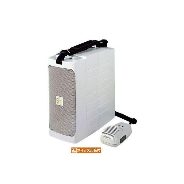ハンドメガホン 拡声器 メガホン 小型 ショルダータイプ TOA ホイッスル付き ER-604W