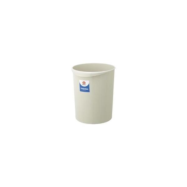 (業務用5セット)ジョインテックス 持ち手付きゴミ箱丸型18.3Lグレー N153J-G5 5個 ×5セット