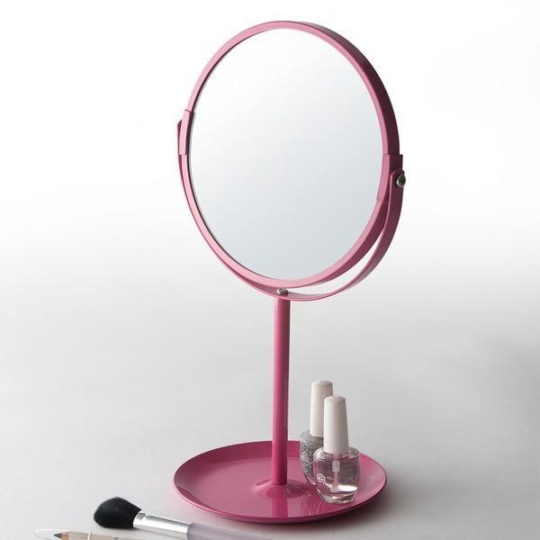 卓上ミラー〔四角型、円形(丸型)、三面鏡、拡大鏡、おしゃれ、可愛い、LED付き etc〕を集めました