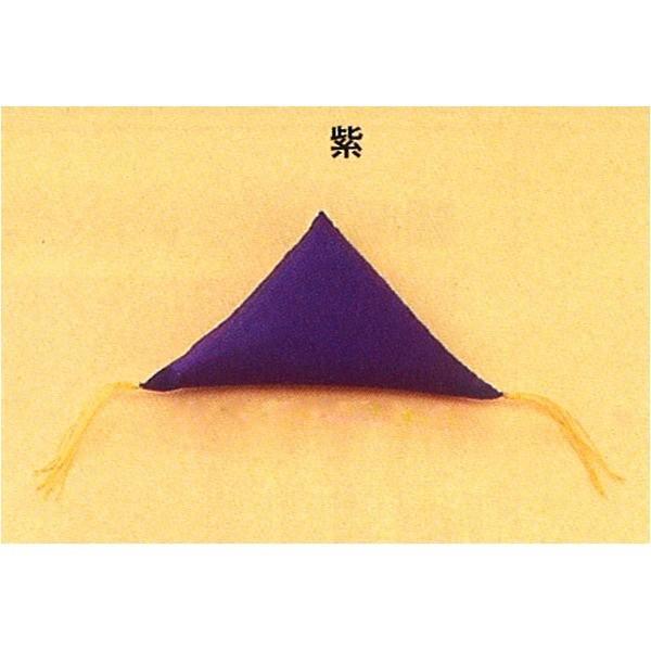 額受用フトン/額縁用付属品 〔3パッケージセット/紫〕 高さ60×幅120mm 日本製 3803|rinkobe|02