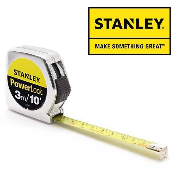 送料 280円 可!! STANLEY 【スタンレー】 Power Lock 巻尺メジャー 3m