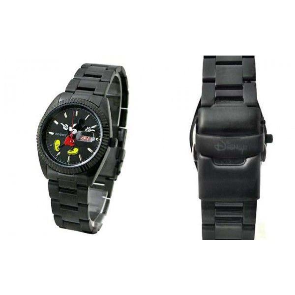Mickey Watch ミッキーウォッチ メンズ腕時計 BLACK|rinkydink|03