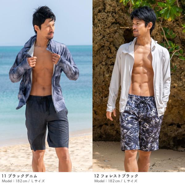 サーフパンツ メンズ 水着 男性用 ボードショーツ トランクス 水陸両用 インナー付き|rinne|10
