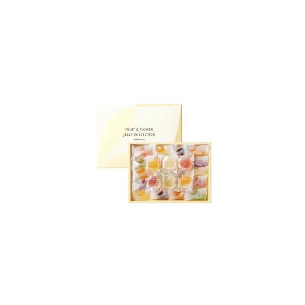 彩果の宝石 フルーツ&フラワーゼリーコレクション54個入り (FF25)