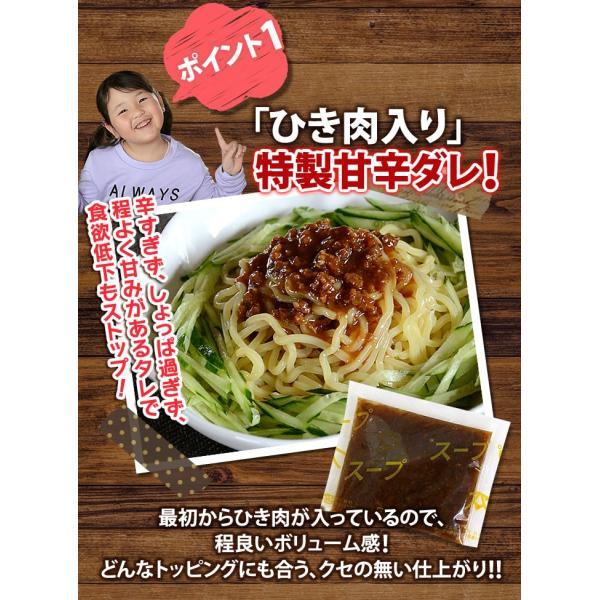 ラーメン 送料無料 ポイント消化☆冷やしジャージャー麺 4食 セット 麺 お取り寄せ セール|rinsendou|05