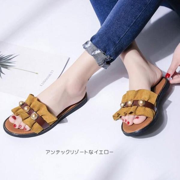 サンダル レディース 履きやすい 可愛いサンダル 歩きやすい おしゃれ 疲れない 靴 シューズ 一部即納|rioty|16