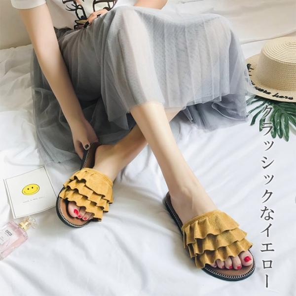 サンダル レディース 履きやすい 可愛いサンダル 歩きやすい おしゃれ 疲れない 靴 シューズ 一部即納|rioty|04