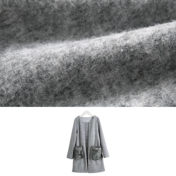 カーディガン コーディガン ファー 起毛素材 厚手 暖か 軽量|rioty|02