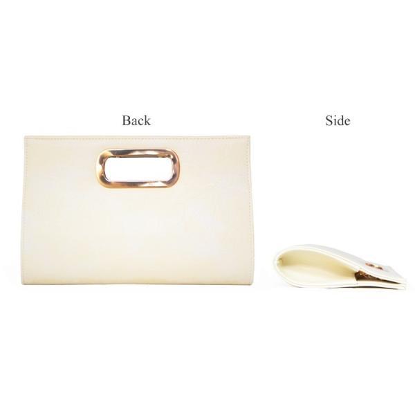 パーティーバッグ 結婚式 クラッチ レザー 2Way 大きめ バッグ パーティバッグ クラッチバッグ レディース シンプル|rippleplus-shop|07