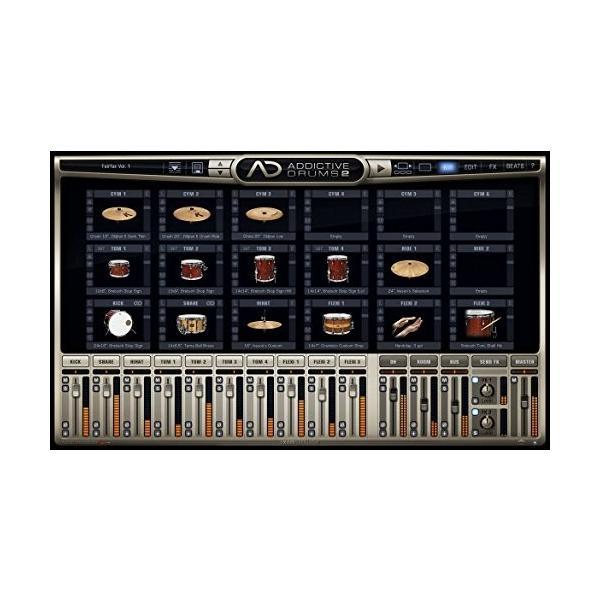 XLN Audio Addictive Drums 2 ソフトウェアドラム音源 スタンドアローン / VST / AU / AAX対応|risasuta|02
