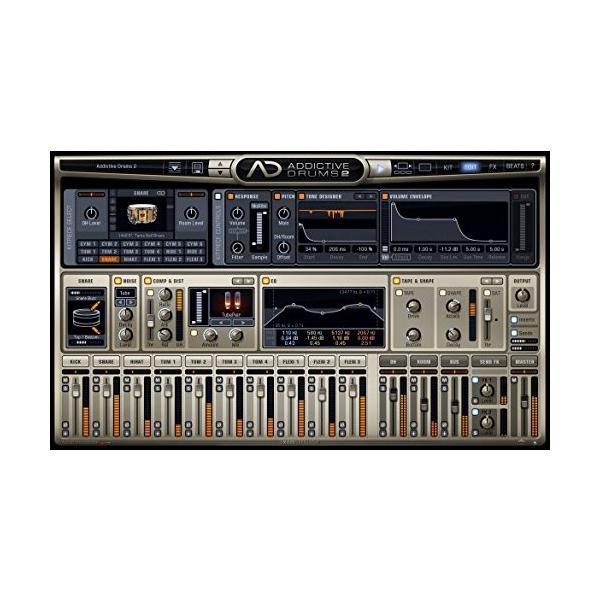 XLN Audio Addictive Drums 2 ソフトウェアドラム音源 スタンドアローン / VST / AU / AAX対応|risasuta|03