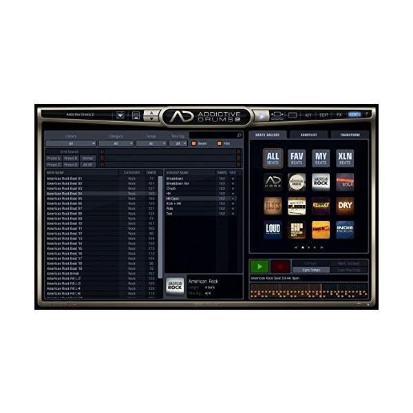 XLN Audio Addictive Drums 2 ソフトウェアドラム音源 スタンドアローン / VST / AU / AAX対応|risasuta|04