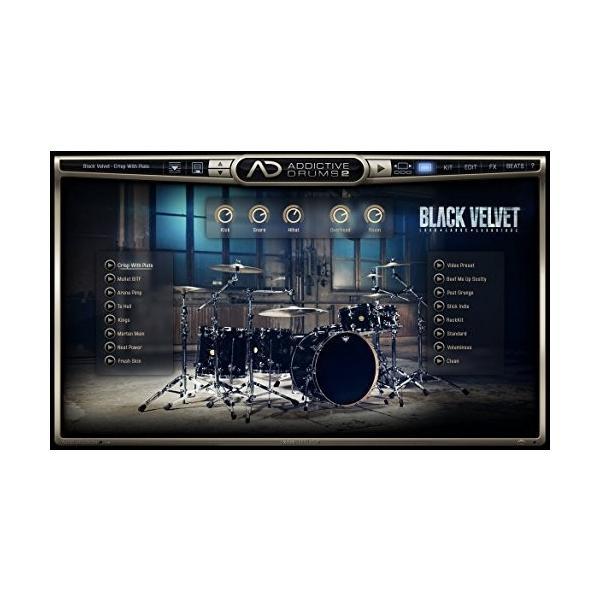 XLN Audio Addictive Drums 2 ソフトウェアドラム音源 スタンドアローン / VST / AU / AAX対応|risasuta|05