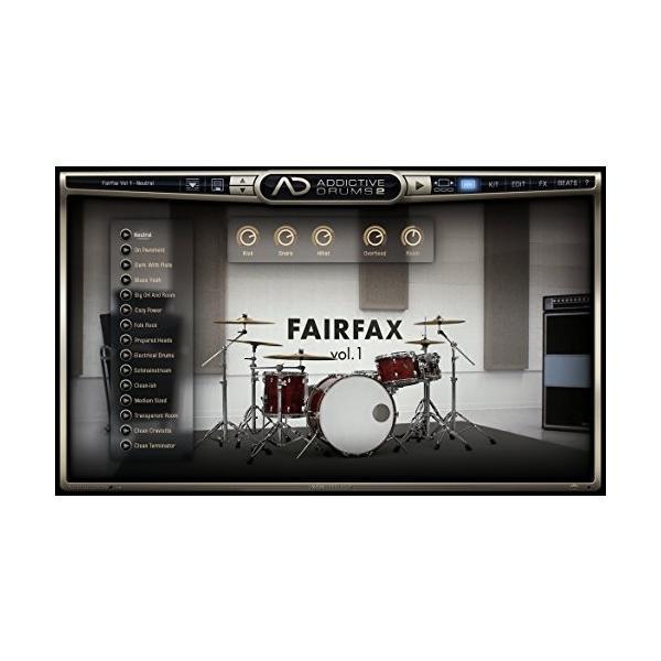 XLN Audio Addictive Drums 2 ソフトウェアドラム音源 スタンドアローン / VST / AU / AAX対応|risasuta|06