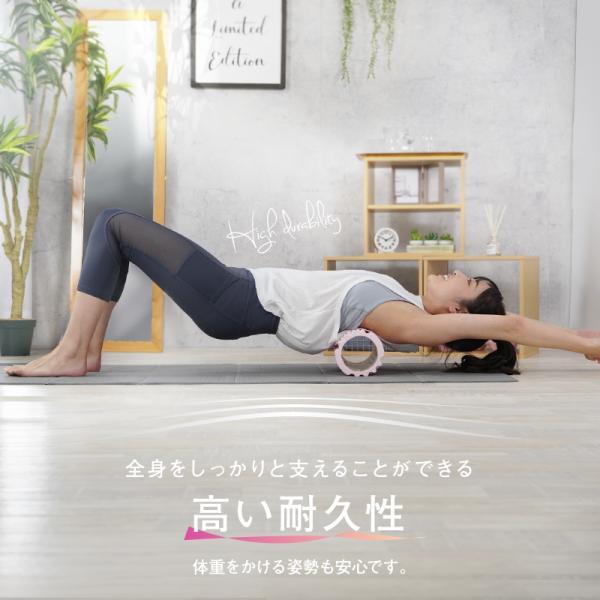 フォームローラー ストレッチ マッサージ ヨガポール ストレッチローラー 筋膜リリース トレーニング|risecreation|09