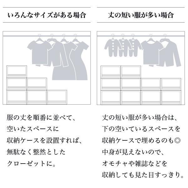 収納ケース 衣装ケース ホワイト 白 引き出し おしゃれ シンプル 定番プラスチック EDEL エーデル Mサイズ risu-onlineshop 06