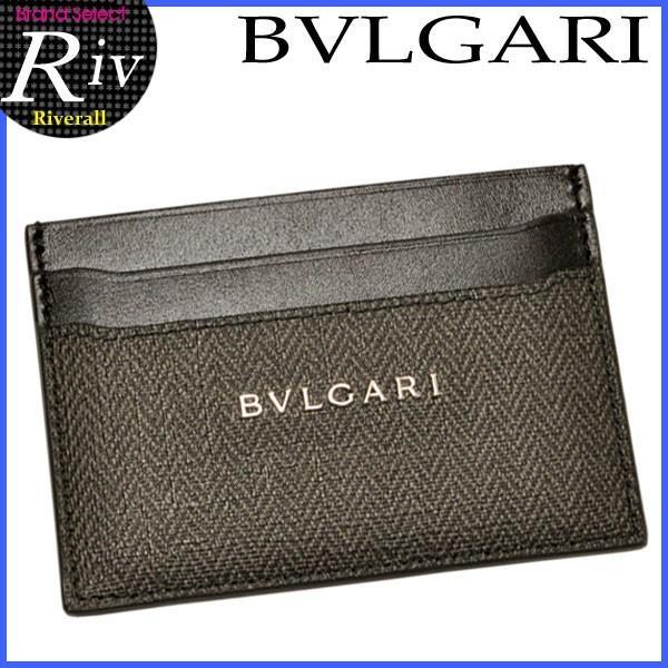 ポイント10%還元 ブルガリ BVLGARI パスケース 定期入れ カードケース メンズ 32584|riverall-men