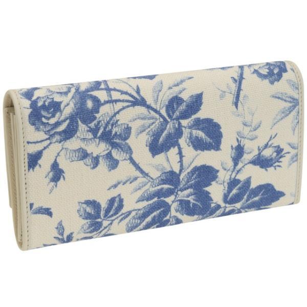 ボーナスセール グッチ GUCCI 財布 長財布 二つ折り 花柄 リボン アウトレット 435809